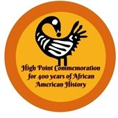 HP Commemoration of 400 years of African American History logo