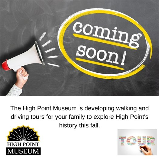 Coming Soon - walking and driving tours