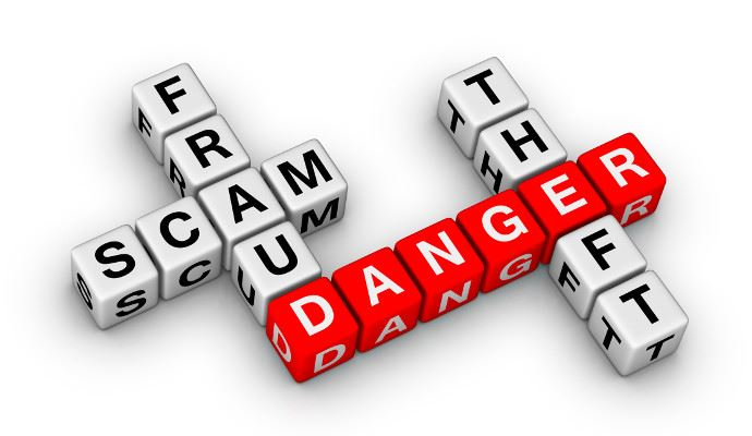 fraud scam danger theft