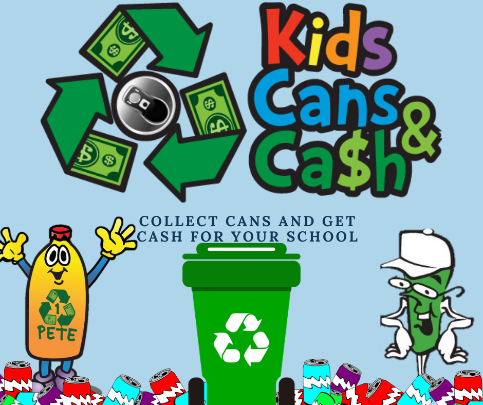 Kids Cans and Cash Graphic