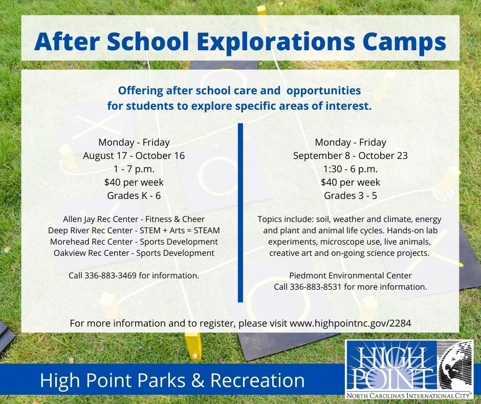 After School Explorations Camps both