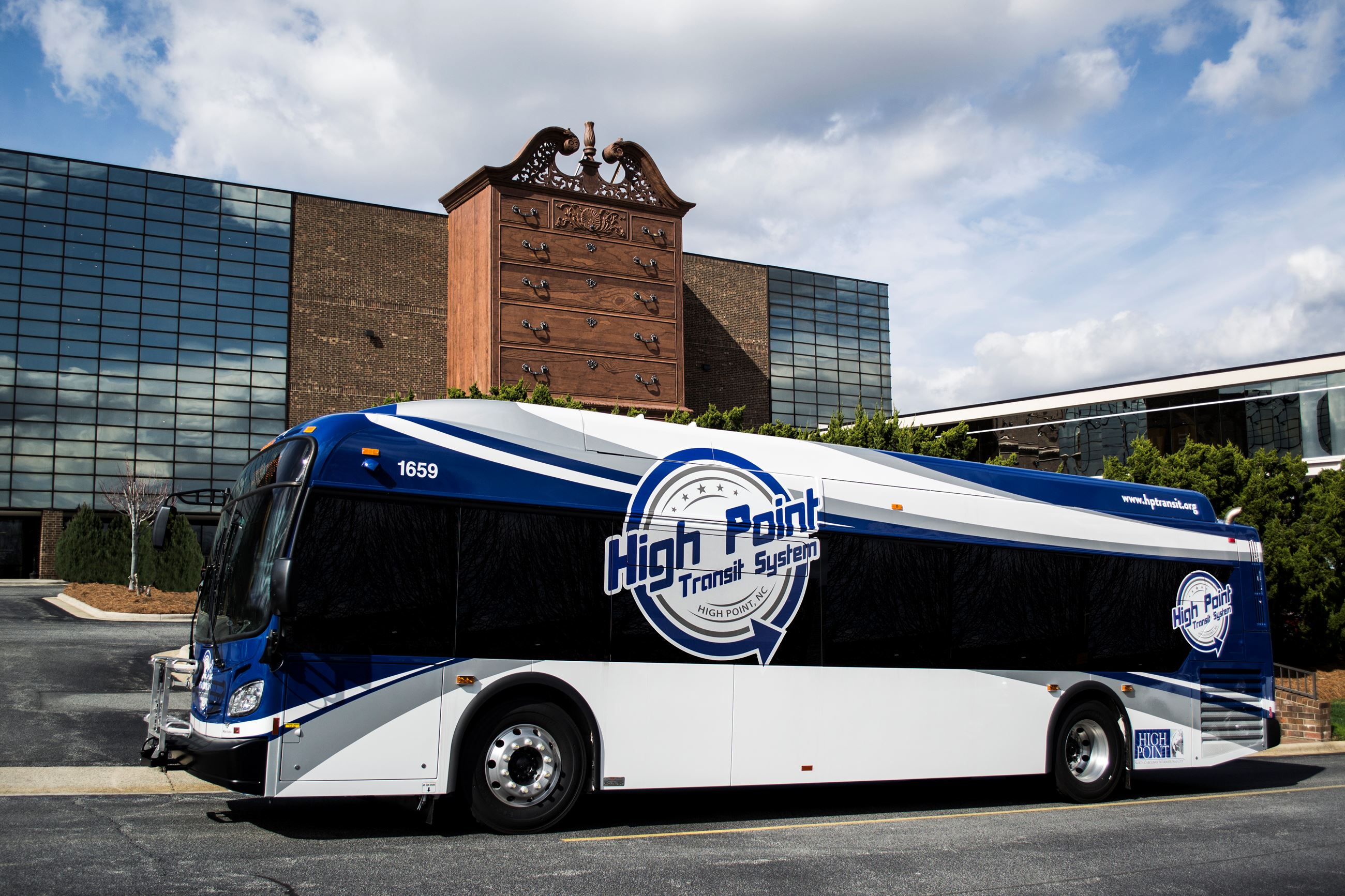 High Point Transit System New Flyer XD35