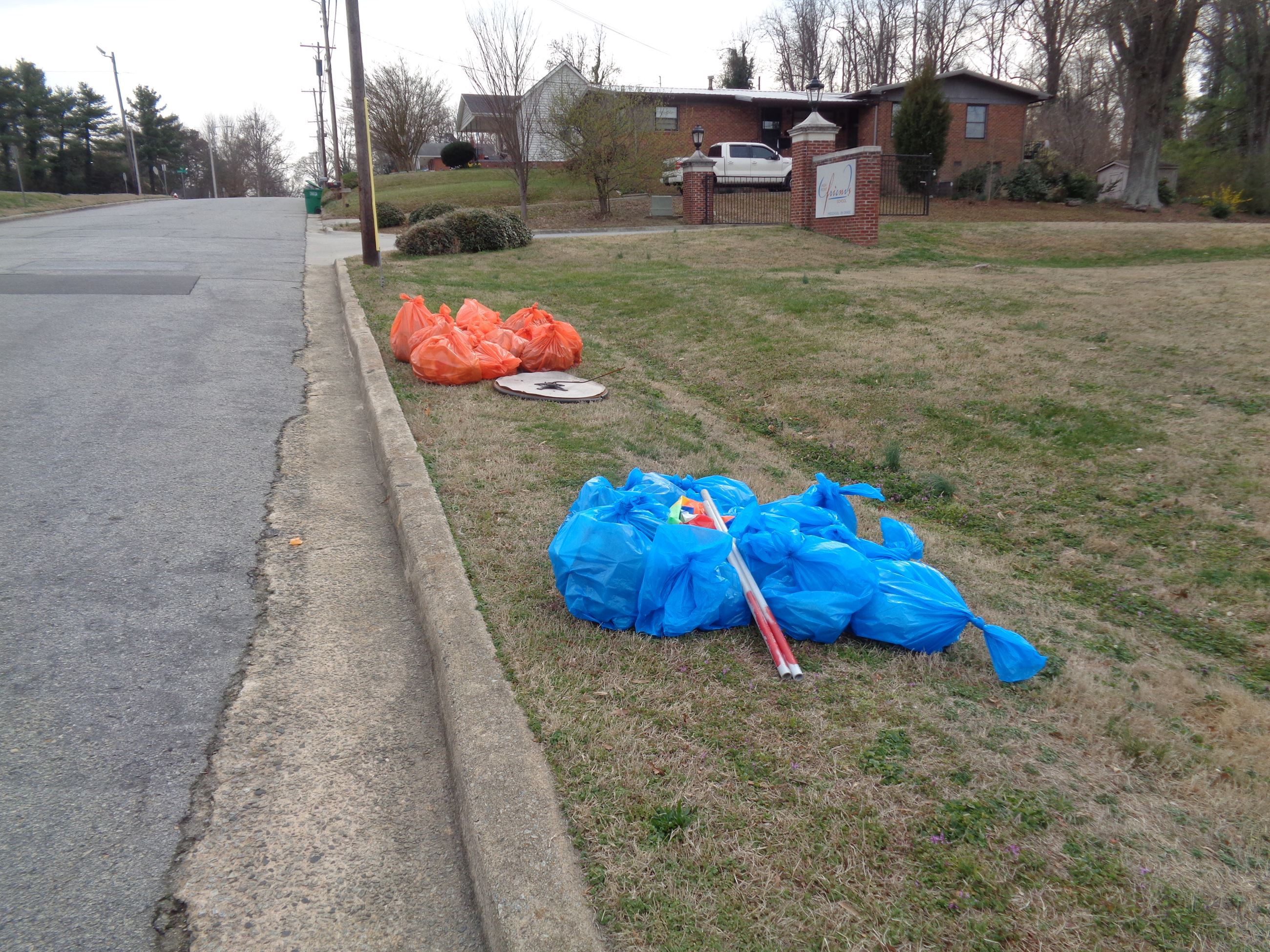 Winter Wipeout Trash Collected 2017