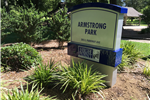 Armstrong Park Sign